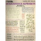 20 Backstitch Alphabets Cross Stitch Patterns