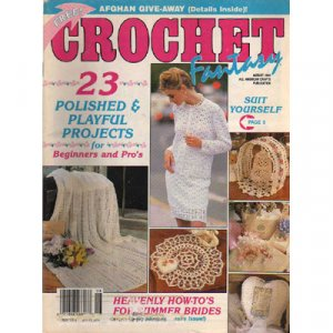 Crochet Fantasy Magazine August 1992