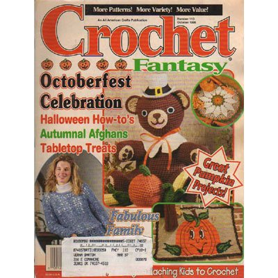 Crochet Fantasy Magazine October 1996