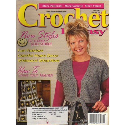Crochet Fantasy Magazine June 2001