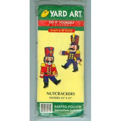 NEW ! Nutcrackers Yard-Art Pattern