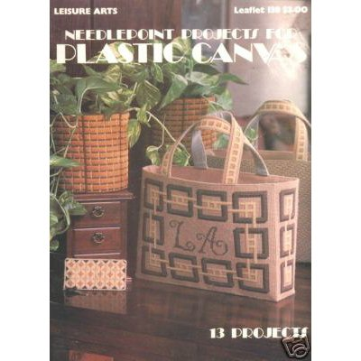 Leisure Arts Needlepoint Projects for Plastic Canvas