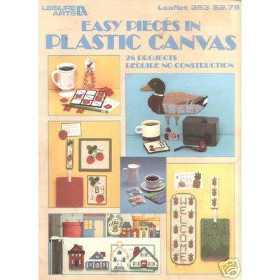 Leisure Arts Easy Pieces in Plastic Canvas