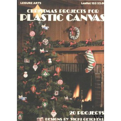Leisure Arts Christmas Projects in Plastic Canvas