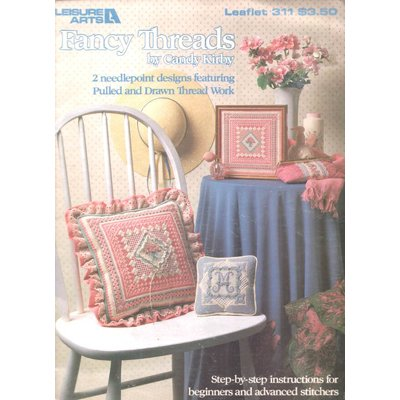Leisure Arts - Fancy Threads Needlepoint Designs