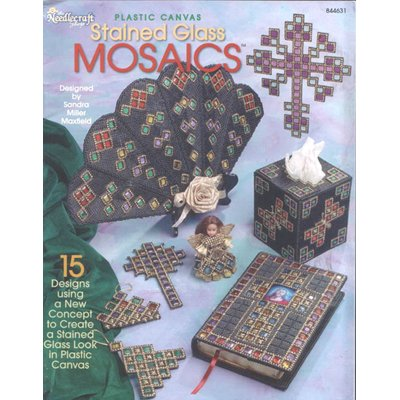 Plastic Canvas Stained Glass Mosaics Pattern Booklet