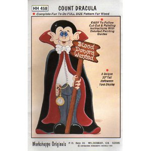 33 Inch Count Dracula Wood Pattern