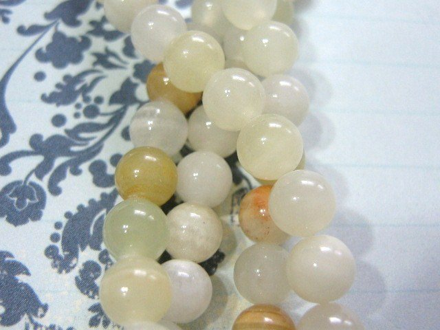 Italian Onyx Bead 6mm Round Gemstone