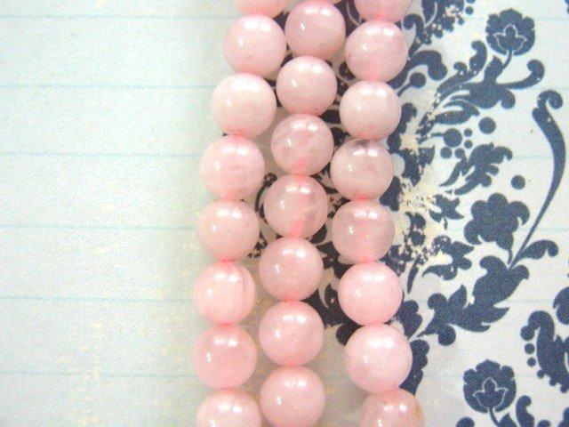 Rose Quartz Beads 6mm Round