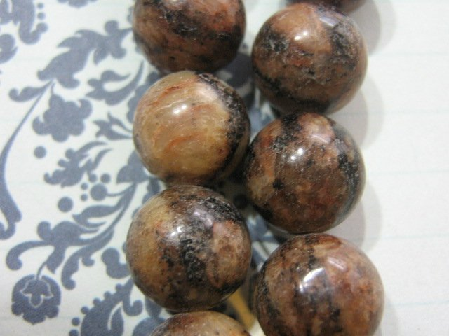 Feldspar Beads 12mm Round