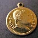 Charms Napoleon Coins 11mm Raw Brass Jewelry Findings
