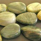 Green Line Jasper Beads 14x21mm Pear