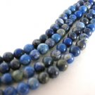Lapis Lazuli Gemstone Beads 4mm Round Blue