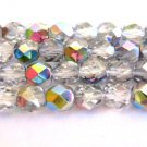 Vitrail Czech Glass Beads 6mm Faceted Round