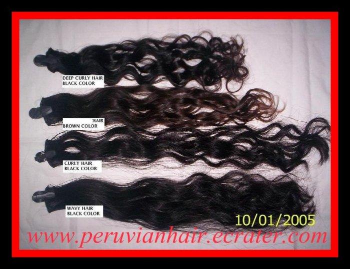 "4 oz. 20-24"" Virgin Peruvian Human Hair"