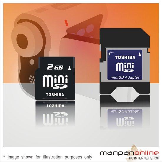 Genuine TOSHIBA miniSD 2GB  Memory Card