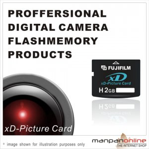 Genuine Fujifilm 2GB XD Picture Memory Card (Type H Hi-Speed series)