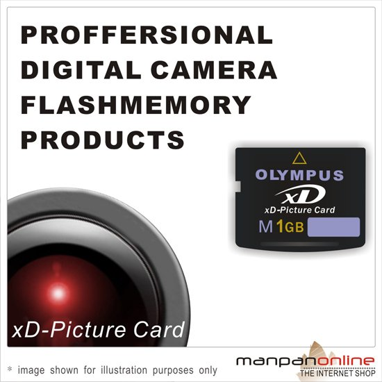 Genuine Olympus 1GB XD Picture Memory Card (Type M series)