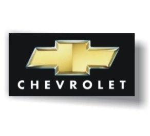 Chevrolet 3D Logo Black Flag