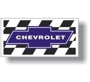 Chevrolet Blue TC Racing Flag
