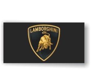 Lamborghini official logo banner flag
