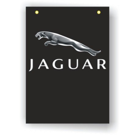 Jaguar 3D Official Logo Banner Flag