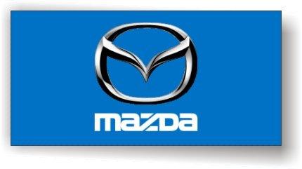 Mazda 3D Logo Flag