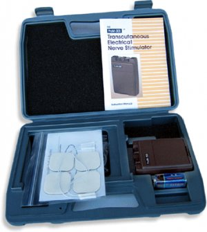 Deluxe Tens Unit Therapy Dual Channel Transcutaneous Electrical Nerve plus timer