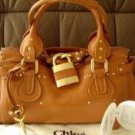 Chloe Paddington bag in Smoking Camel