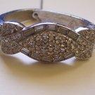 Henkel & Goss Vintage Rhinestone Cuff Bracelet