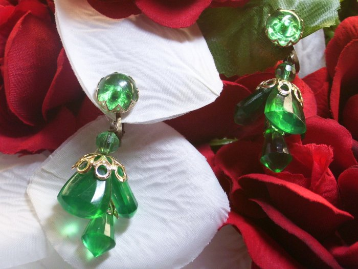 Vintage Chandaleir Earrings