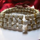 Weiss Milk Glass Bracelet