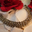 Sterling Vintage Rhinestone Bracelet