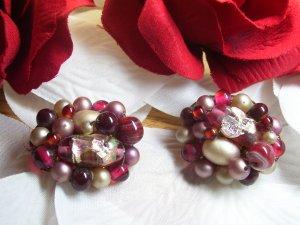 Japan Rasberry Earrings