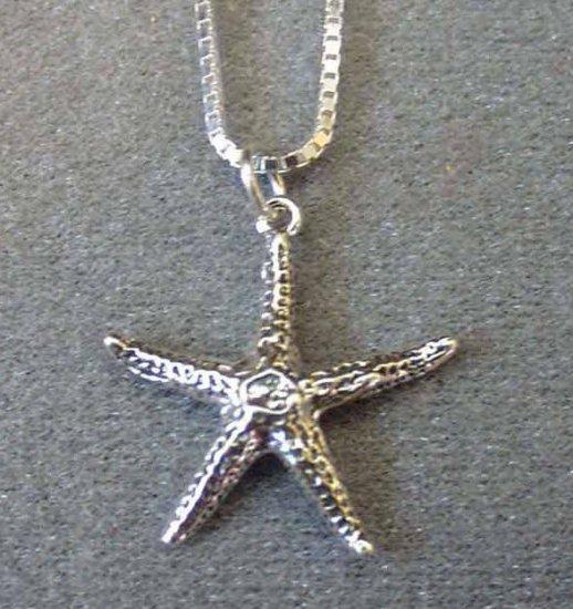 Starfish Pendant 3d