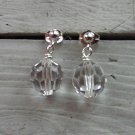 Swarovski Crystal Drop Post Earrings