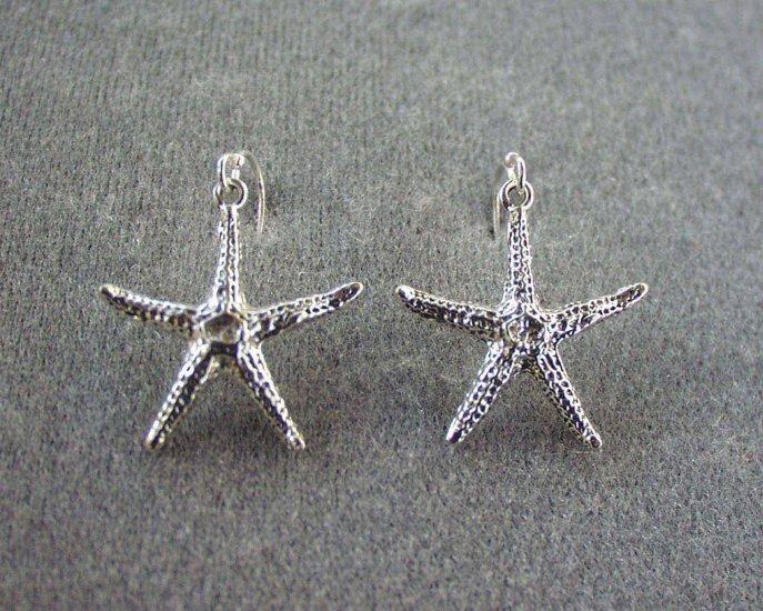 Starfish Earrings 3d