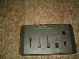 Radio Shack Microphone Mixer