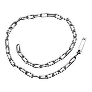 SMITH & WESSON #1840 Nickel Chain Restraint Belt
