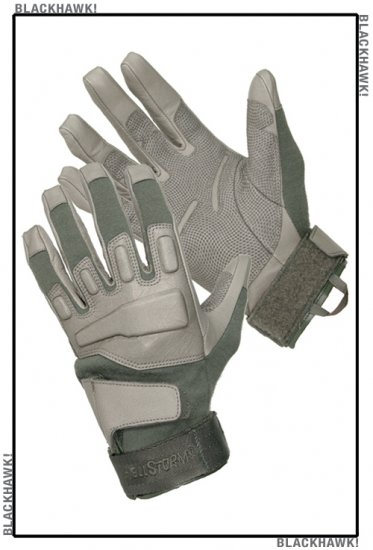 BLACKHAWK S.O.L.A.G. Full Finger Gloves w/Kevlar