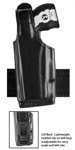 Safariland: Model 520 TASER Duty Holster, Clip on Belt Loop, Thumb-Break
