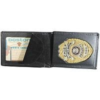 Boston Leather Model 250 Billfold Badge Case with Wallet