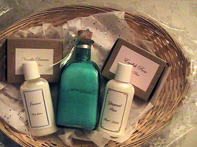 Christmas Essentials Basket