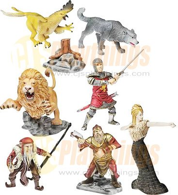 CHRONICLES OF NARNIA Battle of Beruna Deluxe Set Hasbro
