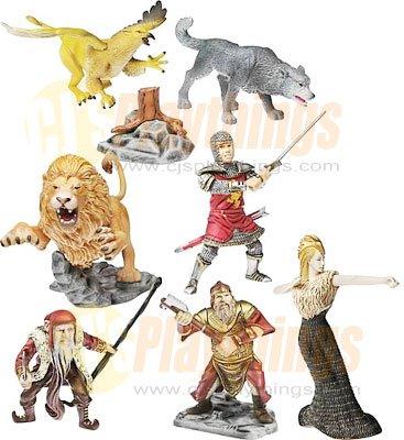 CHRONICLES OF NARNIA Battle of Beruna Deluxe Set Hasbro