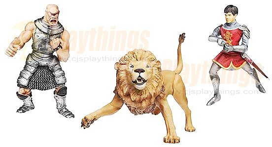 Chronicles of Narnia Deluxe Action Figure Aslan Edmund V.S. Cyclops