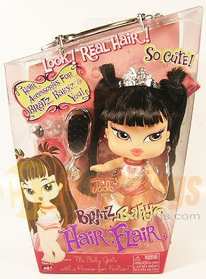 "Bratz Babyz Baby 6"" Real Hair Flair JADE Doll"