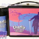 NECA Charlie & The Chocolate Factory Style 1 Tin Lunchbox w/ thermos
