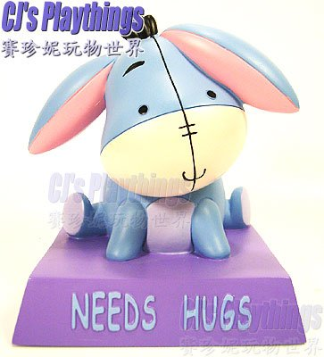 Disney Store Exclusive Cutie Statue NEED HUGS EEYORE