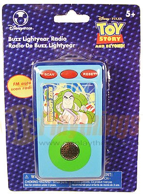 Authentic Disney Store Exclusive Buzz Lightyear Radio FM